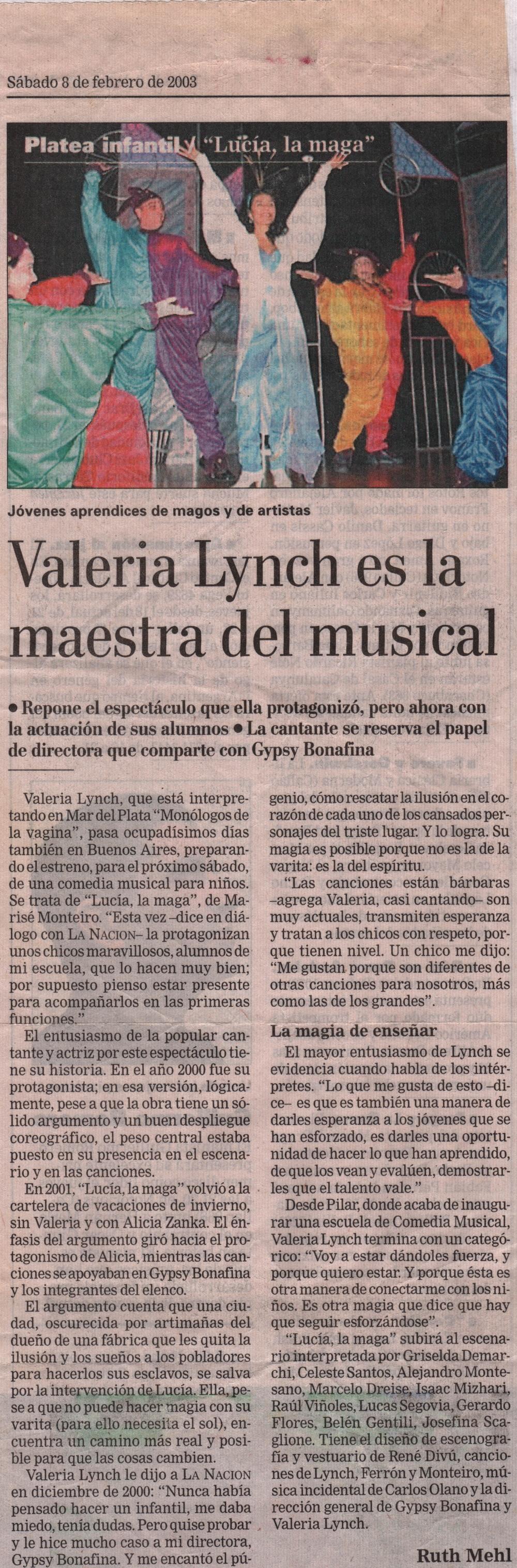 """Gerard Flores - """"La Nación"""" (Argentinian Newspaper)"""