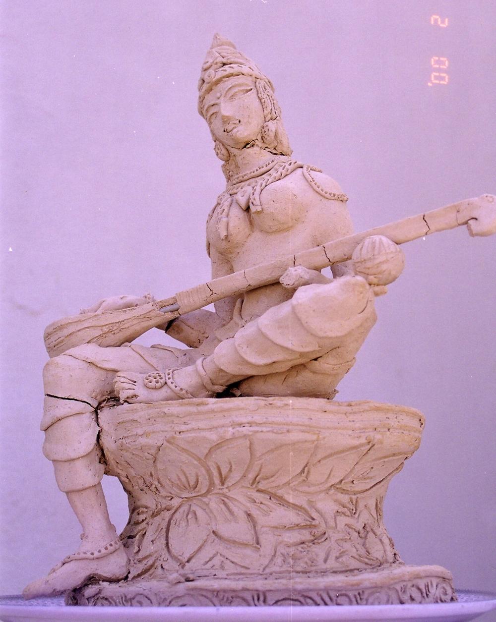Saraswathi Veenapani - Detail