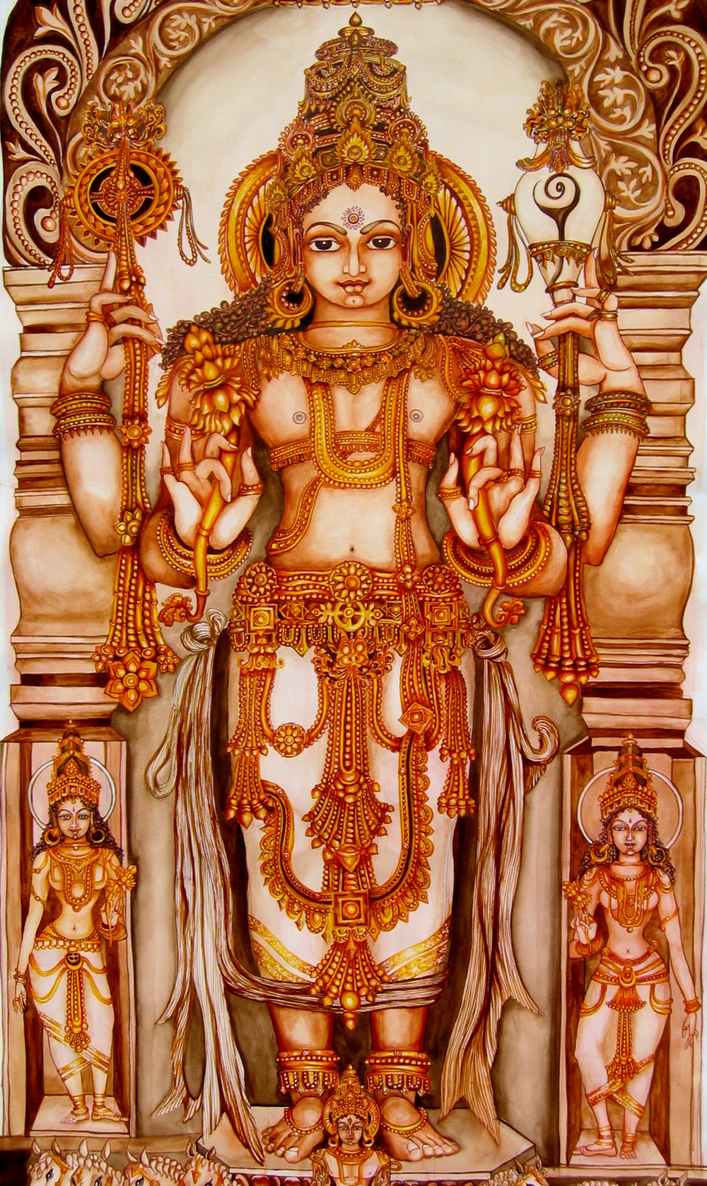 Surya Narayana - Detail