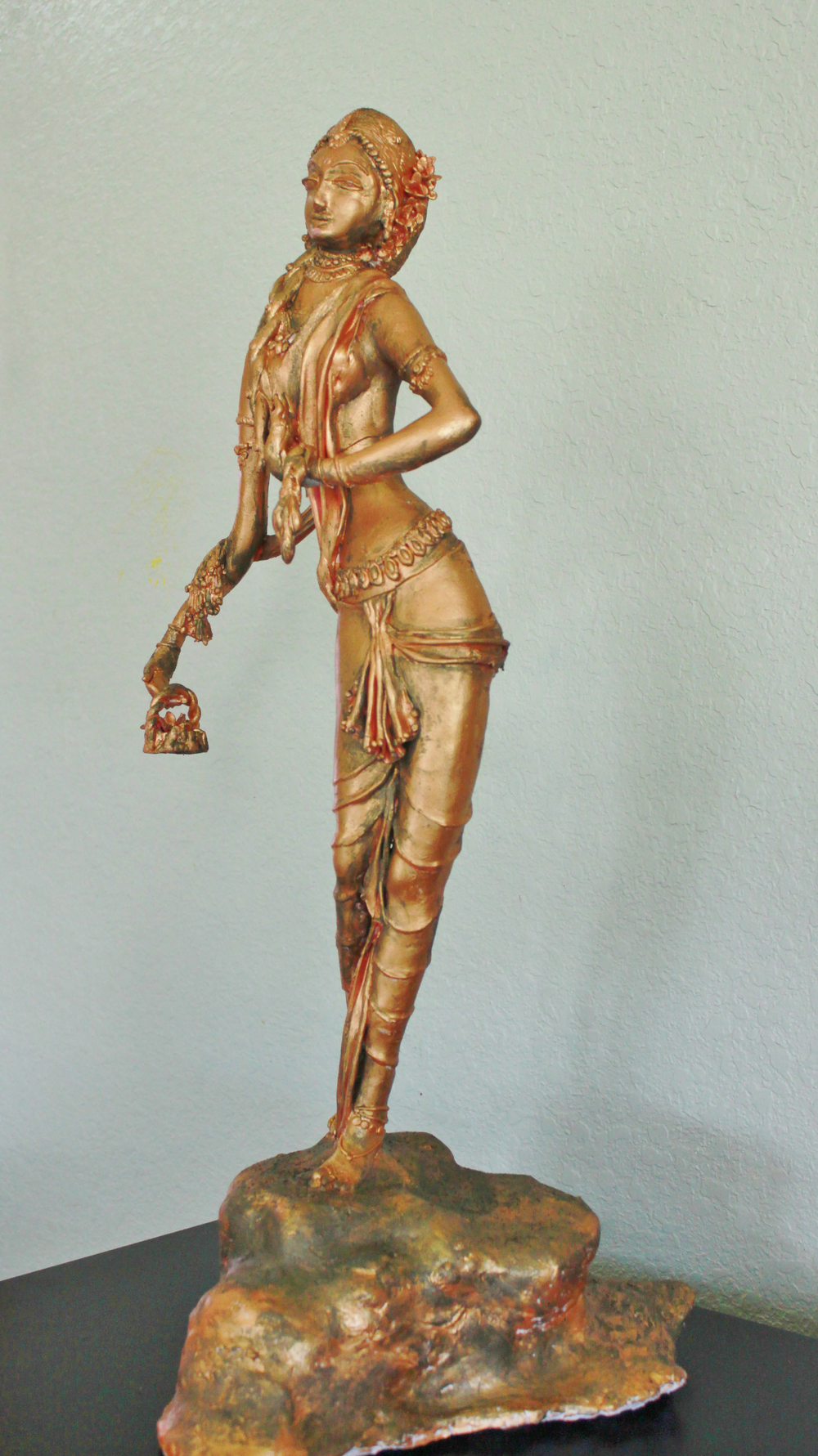 Parvathi - A bronzed version