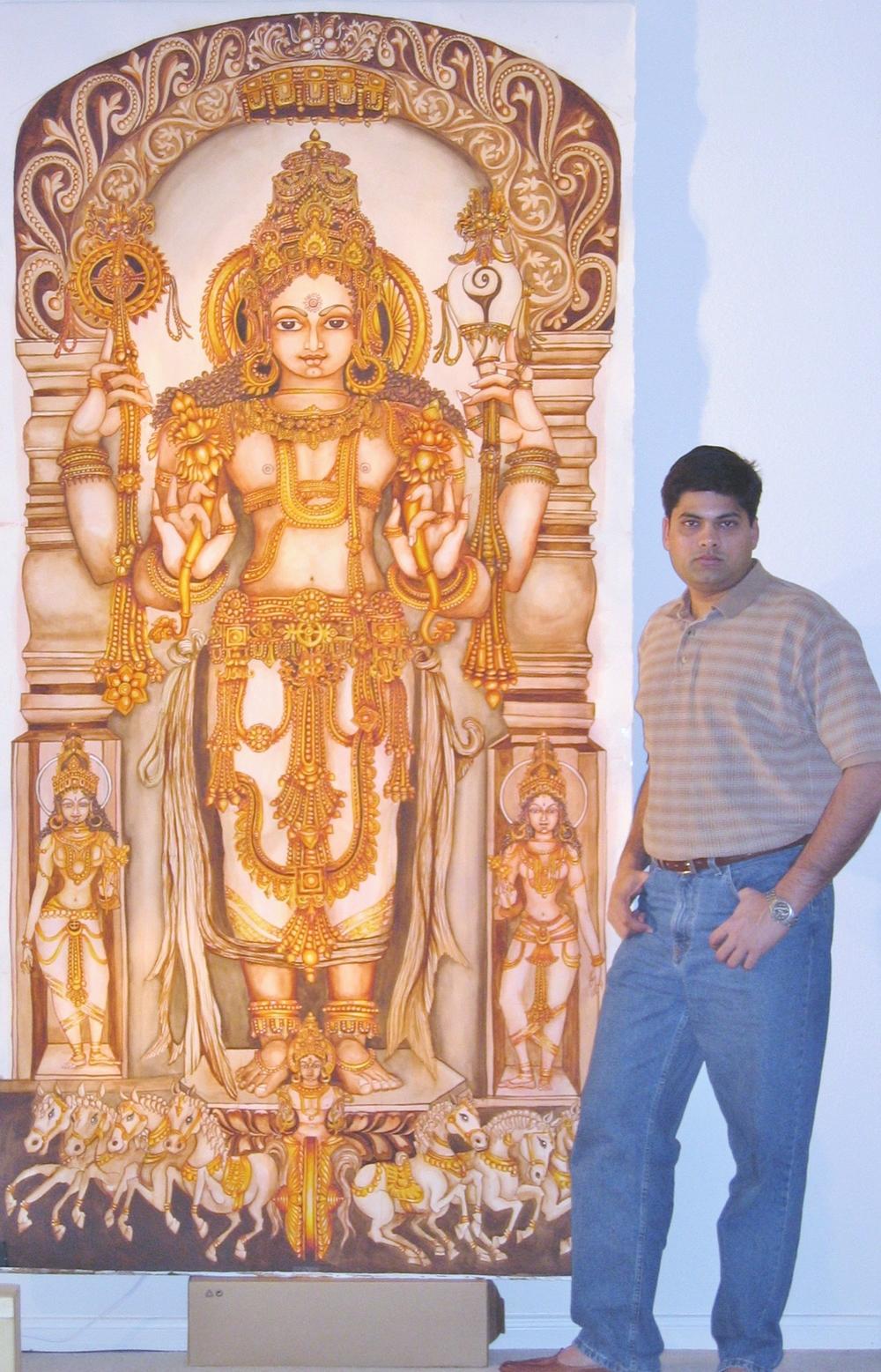 Surya Narayana Mural