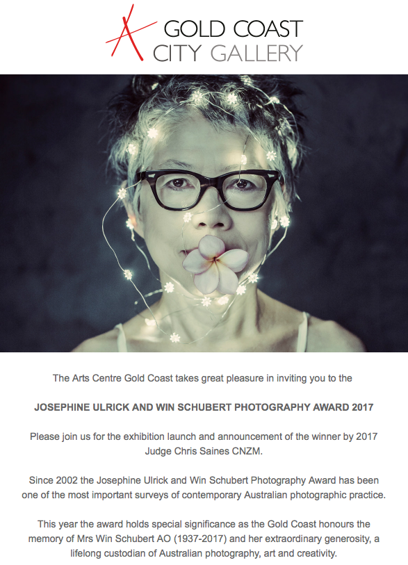 josephine uhlrick win schubert photography prize