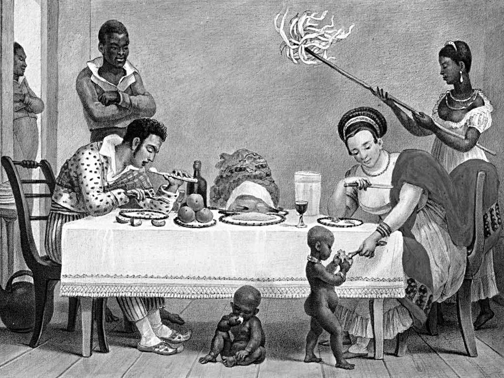 Household slaves in 19th century Brazil