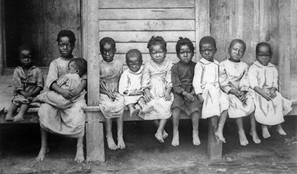 Children of enslaved Africans