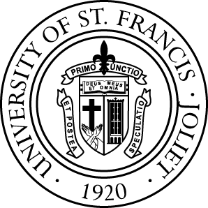 University-of-St.-Francis-Black-White-Seal-300x300.png