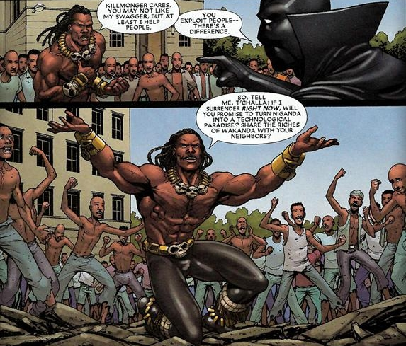 Black Panther, Marvel Comic
