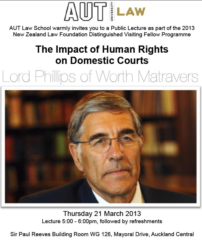 The Impact of Human Rights on Domestic Courts
