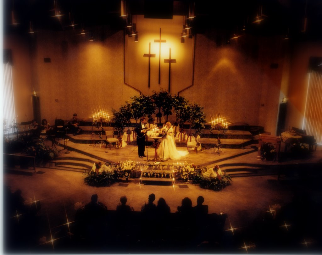 Our candle-light wedding in Baton Rouge, Louisiana