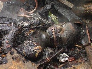 Rajni burnt alive