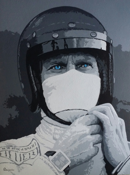 ''THE RACER - STEVE McQUEEN''