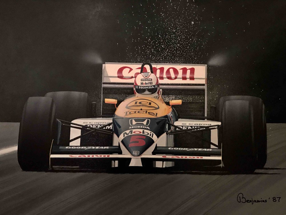 """MANSELL - SPARKS AND ALL"""