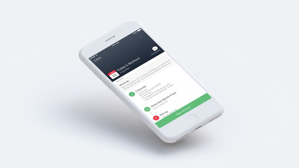 USE OUR APP - Thanks to our partnership with FitBot and TrainHeroic, you'll have an easy way to log your workouts each day, track PR's, and your benchmarks.But that's not all, this dashboard allows you to:Communicate with coaches and other athletes.Check the Leaderboard to see where you stack up on certain workouts...Log your nutritional goals and daily intake.And Access thousands of video tutorials so you always know what to do and how to do it!