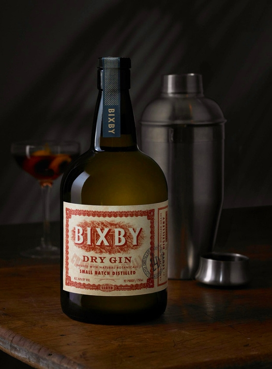 Bixby Gin Package Design by Tim Gatto for Auston Design Group