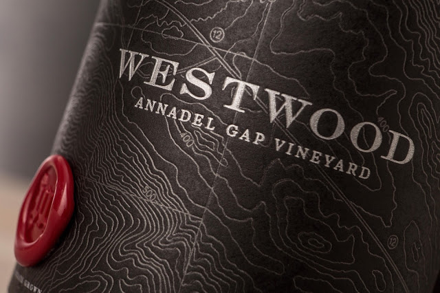 Westwood Wine Label Design by Tim Gatto for Auston Design Group