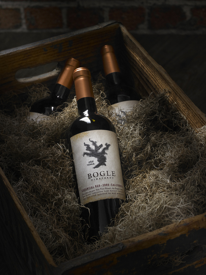 Bogle Essential Red Wine Label Design by Tim Gatto at Auston Design Group