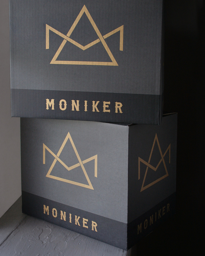 Moniker Package Design by Tim Gatto for Auston Design Group