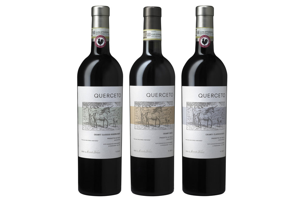 Querceto Chianti Packaging by Tim Gatto  for Auston Design Group