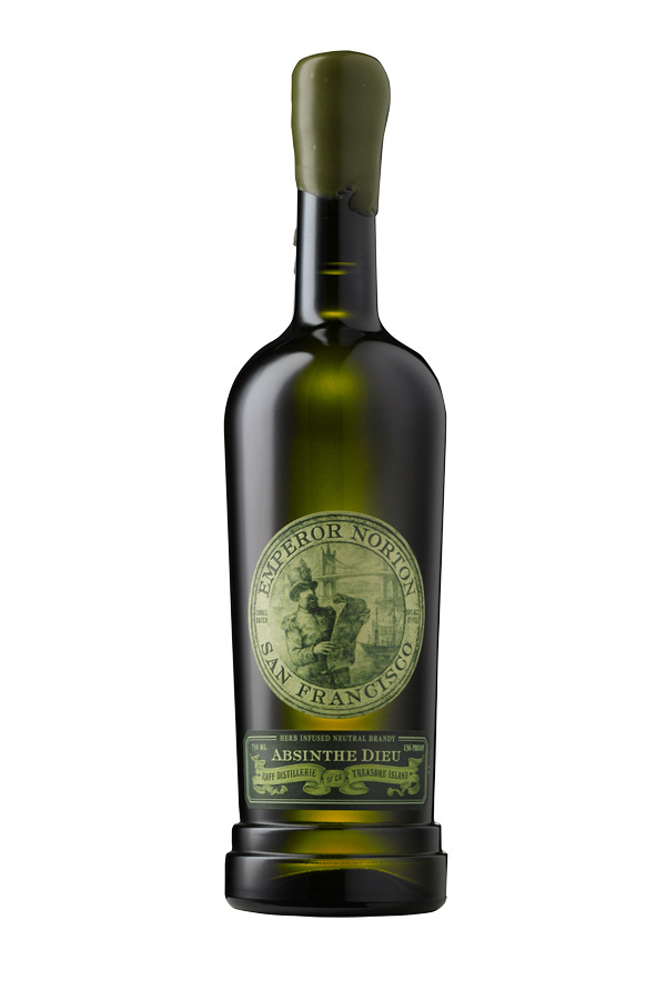 Emperor Norton Absinthe Package Design by Tim Gatto for Auston Design Group