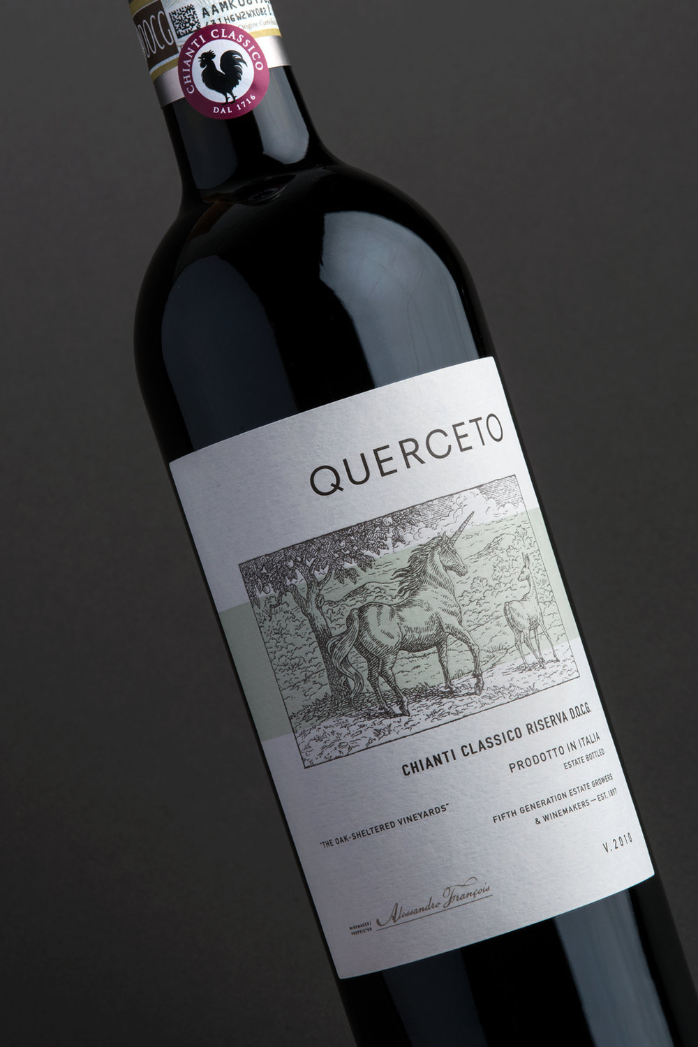 Querceto DOCG Design Evolution by Tim Gatto for Auston Design Group