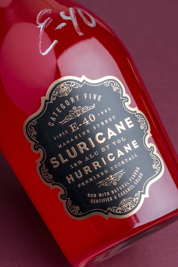 E-40 Sluricane Package Design by Tim Gatto for Auston Design Group