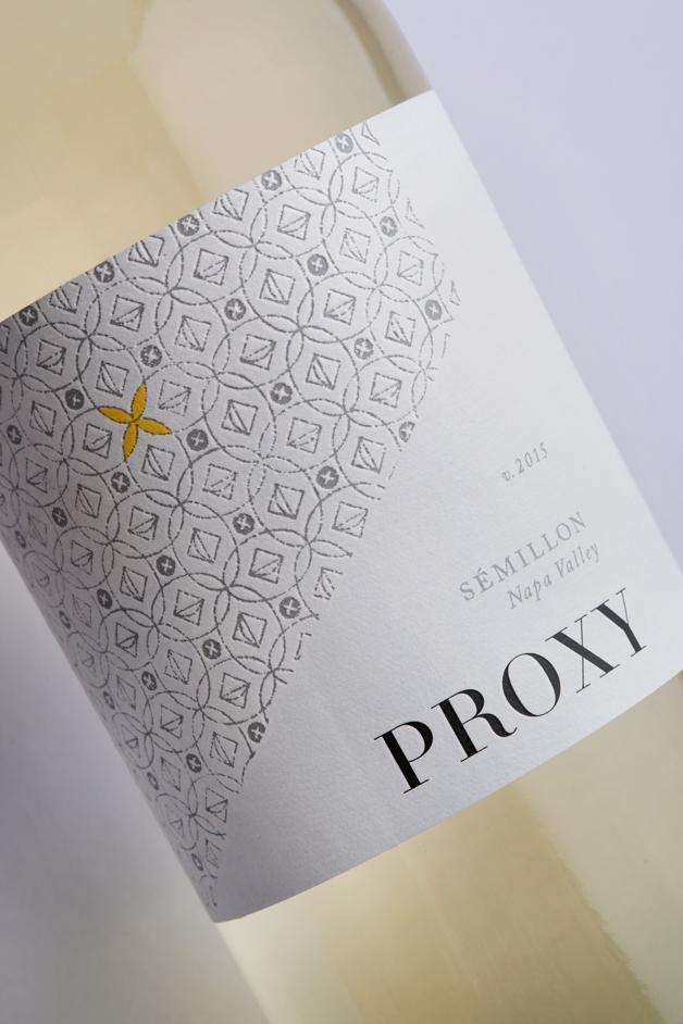 Proxy Wine Label Design by Gatto Design