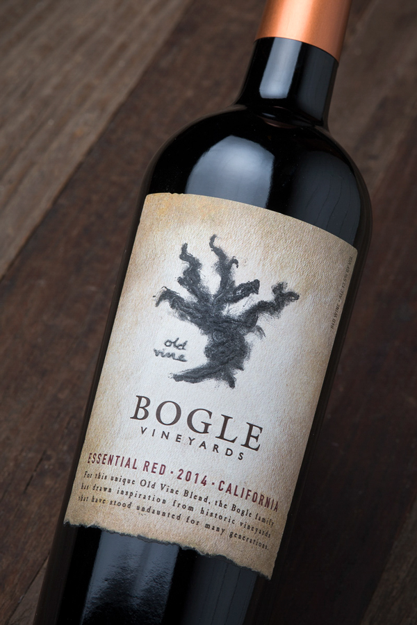 Bogle Essential Red Label Design by Tim Gatto for Auston Design Group