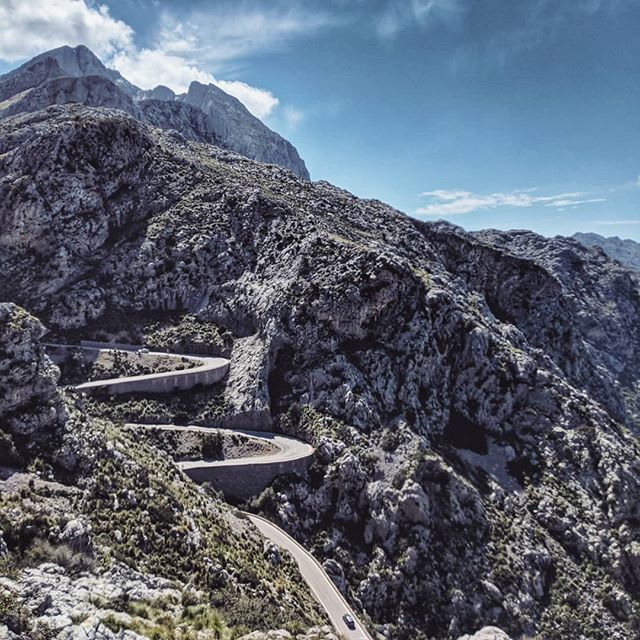 Legendary cycling climb . . #mallorca #majorca #Cyclinglife #cycling