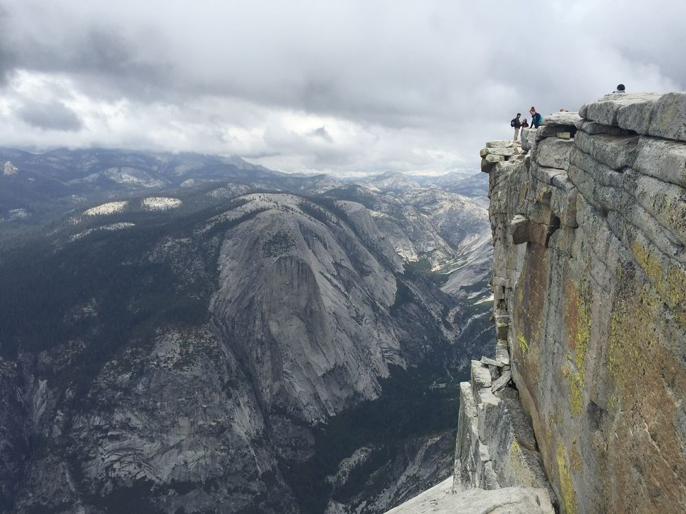 CALIFORNIA - Half Dome.