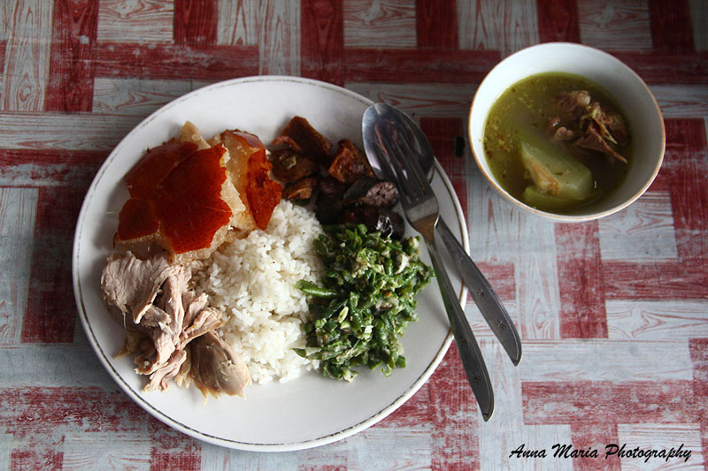 "INDONESIA - Babi Guling — ""roasted pork"" — is a near-perfect meal for me."