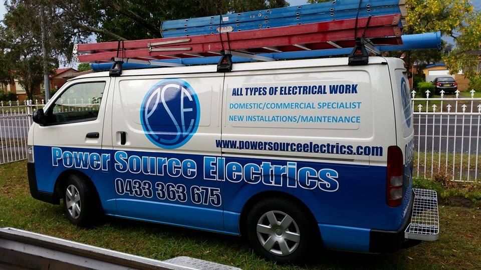 Power Source Electrics - your reliable Sydney and Shoalhaven Electricians
