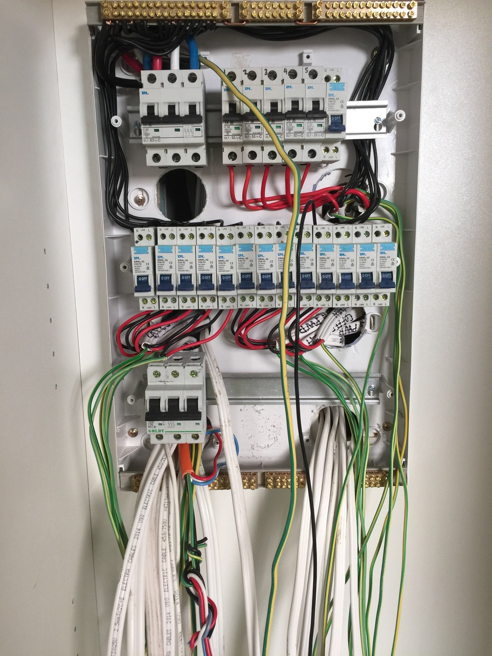 Switchboard wiring and maintenance
