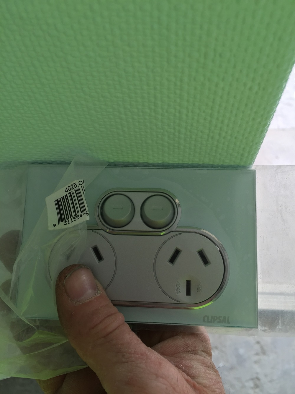 Power outlet installations