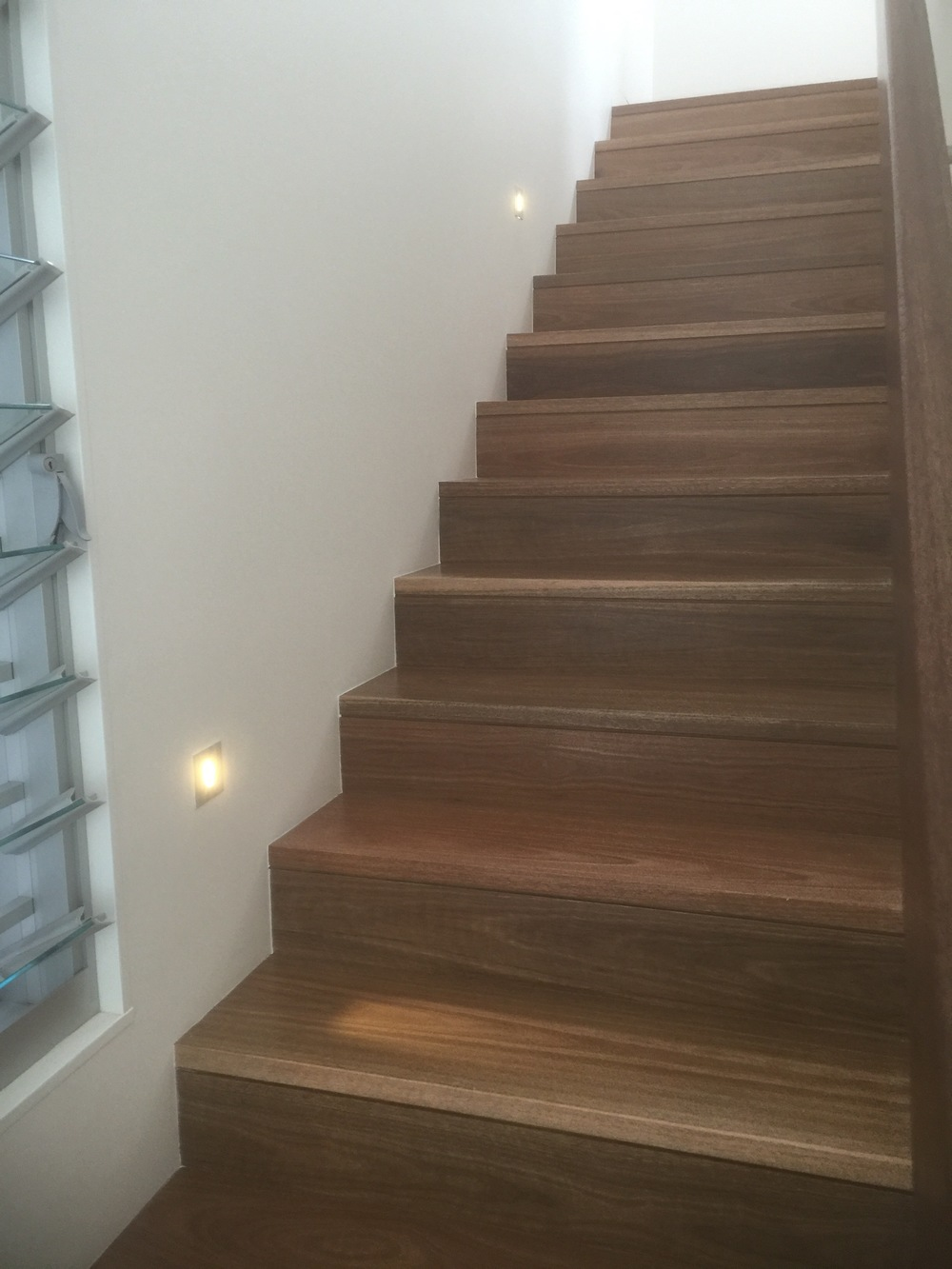 Stairwell lighting, tread lighting and path lighting