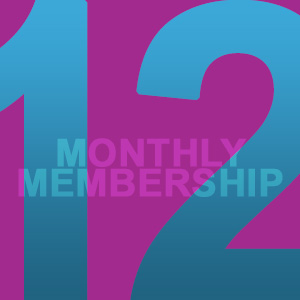 12 CLASSES/MONTH (  $12  /class)   *  12x/month:  Great for those pushing to reach their fitness goals