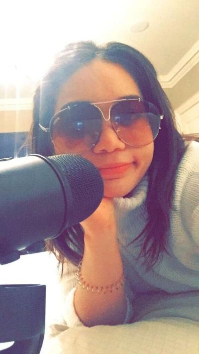 Maya on the mic...
