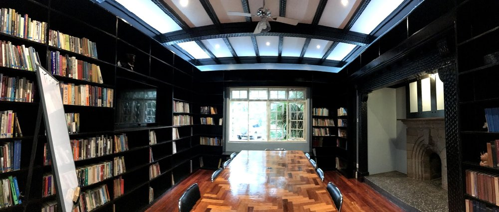 Amani Gardens Conference Room & Library