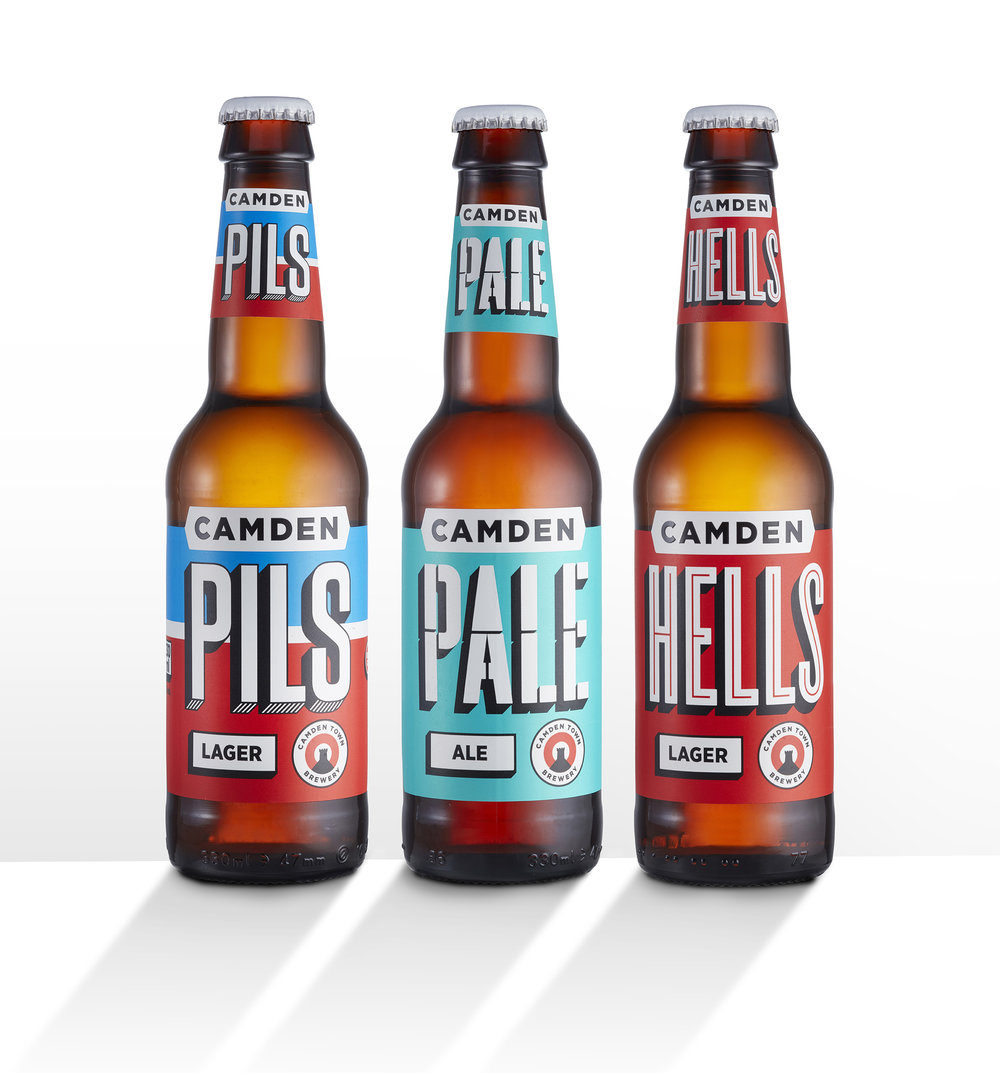 Tutorial lighting drinks and other product photography - Camden Pale Ale Packshot Photography Clipping Path Cut Out Product Photography Studio Lighting Professional White Background