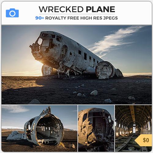 WreckedPlaneCrashDebris
