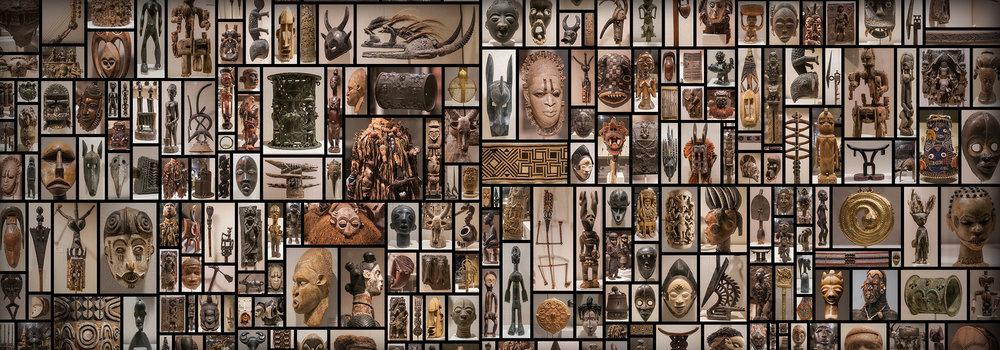 AfricanArtifactsVoodooMasks