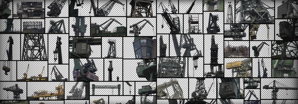 ShipyardCranesMaskedIndustrialShapes
