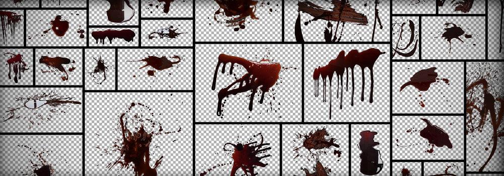 BloodSplattersPNGTexture