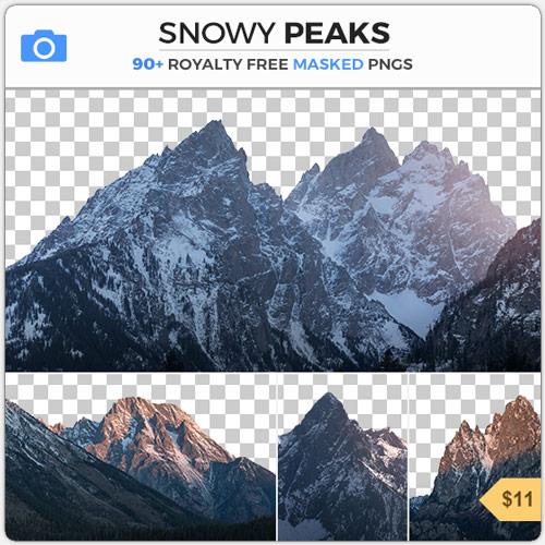 SnowyPeaksMaskedMountains