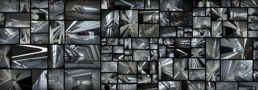 Scifi Futuristic Interior Zaha Hadid