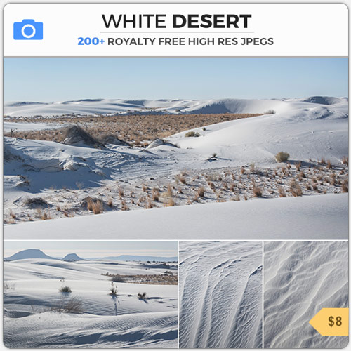 WhiteDesertDesolateWasteland