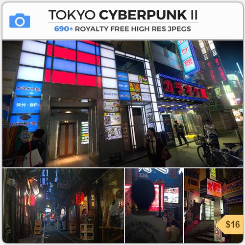 Tokyo Cyberpunk Neon City