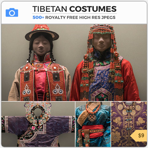 TibetanCostumesEasternFashion