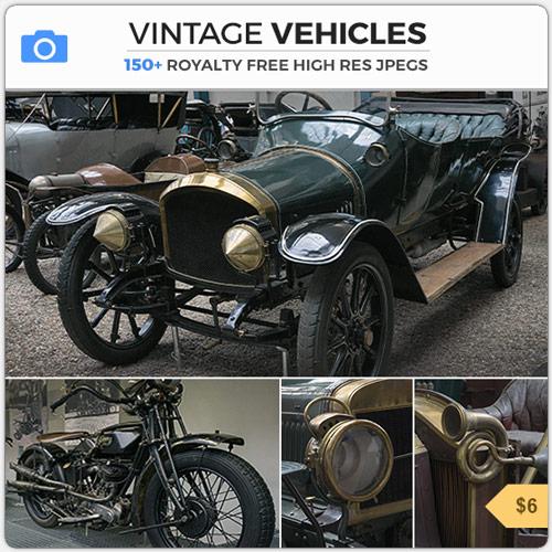 Vintage Vehicles Old Timer Cars