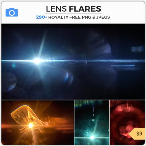 Lens Flare Optical Bokeh Effects