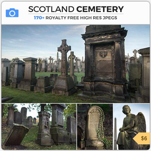 ScotlandCemeteryGothicGravestones