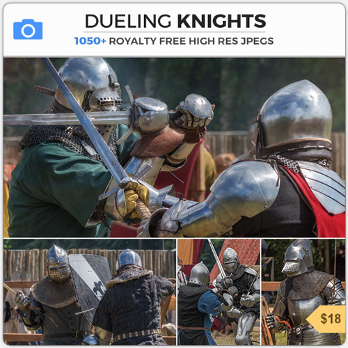 DuelingKnightsArmorMeeleeCombat